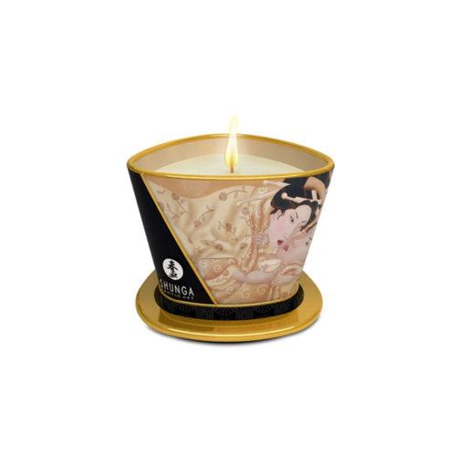 Shunga Massagekerze Desire Vanille